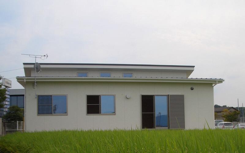 リビングから始まる平屋の家イメージ1