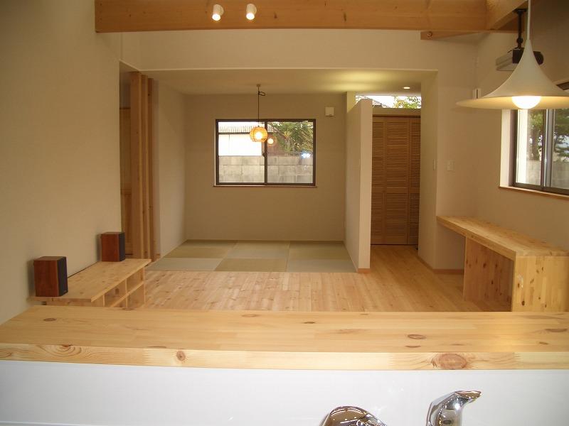 リビングから始まる平屋の家イメージ6