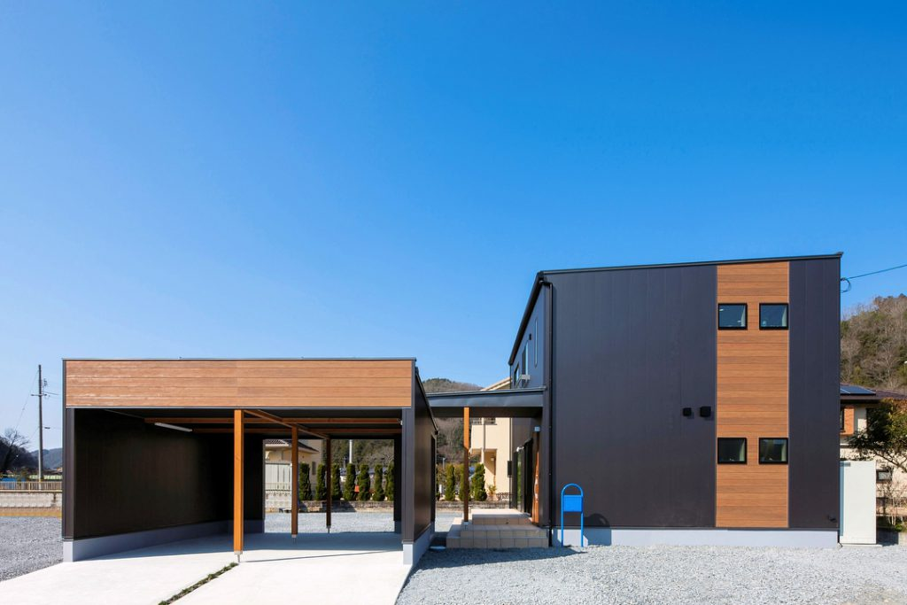 ガレージのある、開放的な家イメージ1